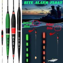Электронный СВЕТОДИОДНЫЙ светильник автоматически сигнализация укуса рыбы ночные Рыболовные Поплавки-бобберы сигнализация ночные Рыболовные Поплавки-бобберы