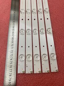 Image 1 - Nova 5 pçs/lote 10LED 777 milímetros tira conduzida luz de fundo para Hitachi LE40S508 C400F13 E2 C (G2) RF AB400E32 1001S 01 A7