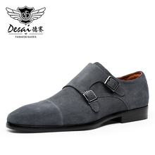 Desai Brand Genuine Cow Leather Men Shoes Winter Casual Shoe For Male Germany Formal Luxury Real Custom Manufacturers