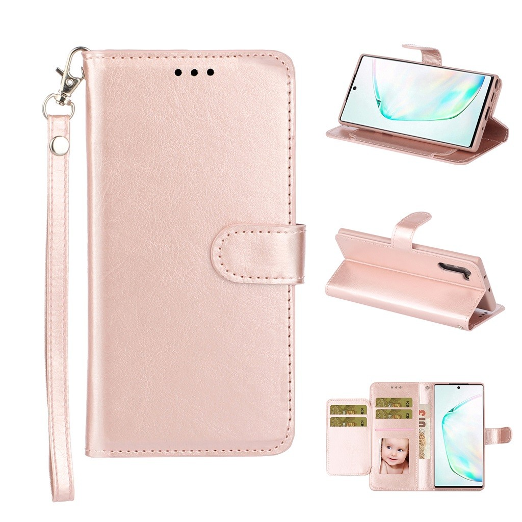 Dual-Use Card Wallet Flip Leather Case Cover For Samsung Galaxy Note10/For Samsung Galaxy Note 10 Pro S10