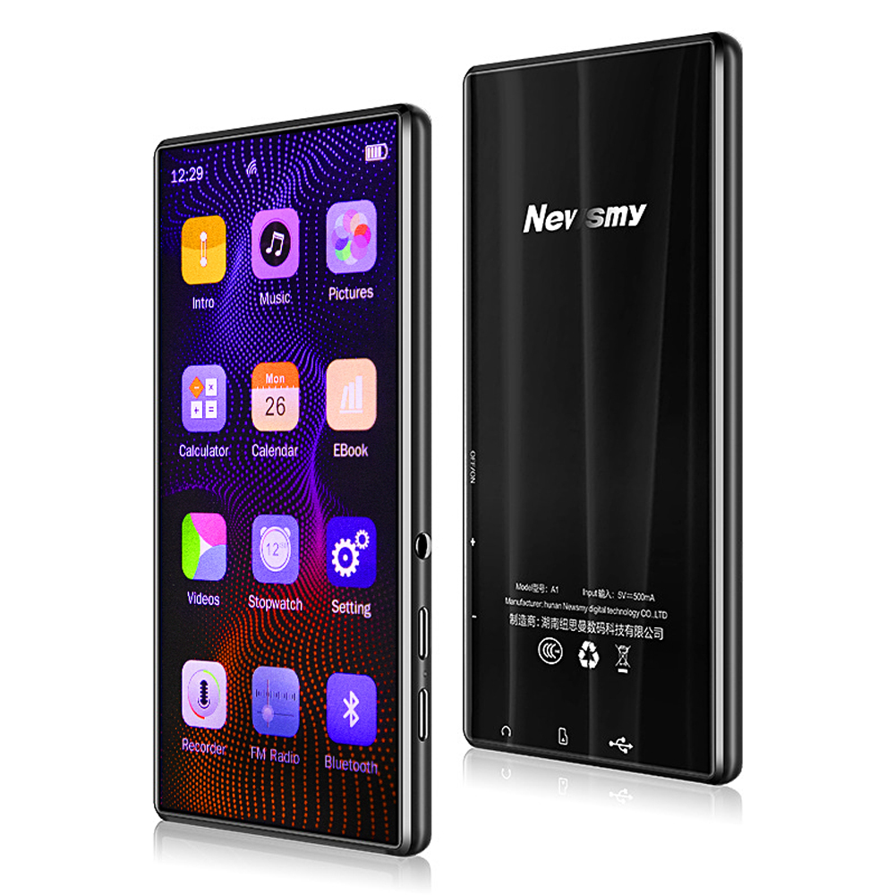 Newsmy A1 MP3 MP4 MP5 Full Touch Screen 5.0 Inch 8GB Memory APE FLAC WAV E-Book Reader Loseless Video Music Player