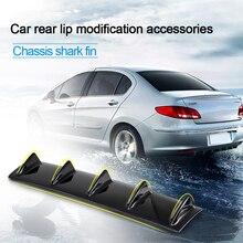 Автомобильный задний бампер 3D крутые наклейки в виде акул шасси плавник акулы автомобильный бампер губы дефлектор губы для Audi A4 A3 A6 BMW Skoda Fabia Honda