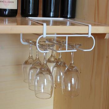 Uchwyt na kubek wina do góry nogami lampka do czerwonego wina rack kreatywny iron czara wiszące ramki domowy bar wina pojemnik na termos stojak na tanie i dobre opinie CN (pochodzenie) Przechowywanie posiadaczy i stojaki