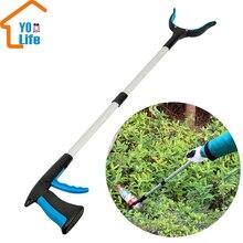 Зажим для мусора, уборщик для мусора, удлиненный захват, инструмент для помощи, инструмент для уборки мусора, садовый уборщик для инвалидной коляски и