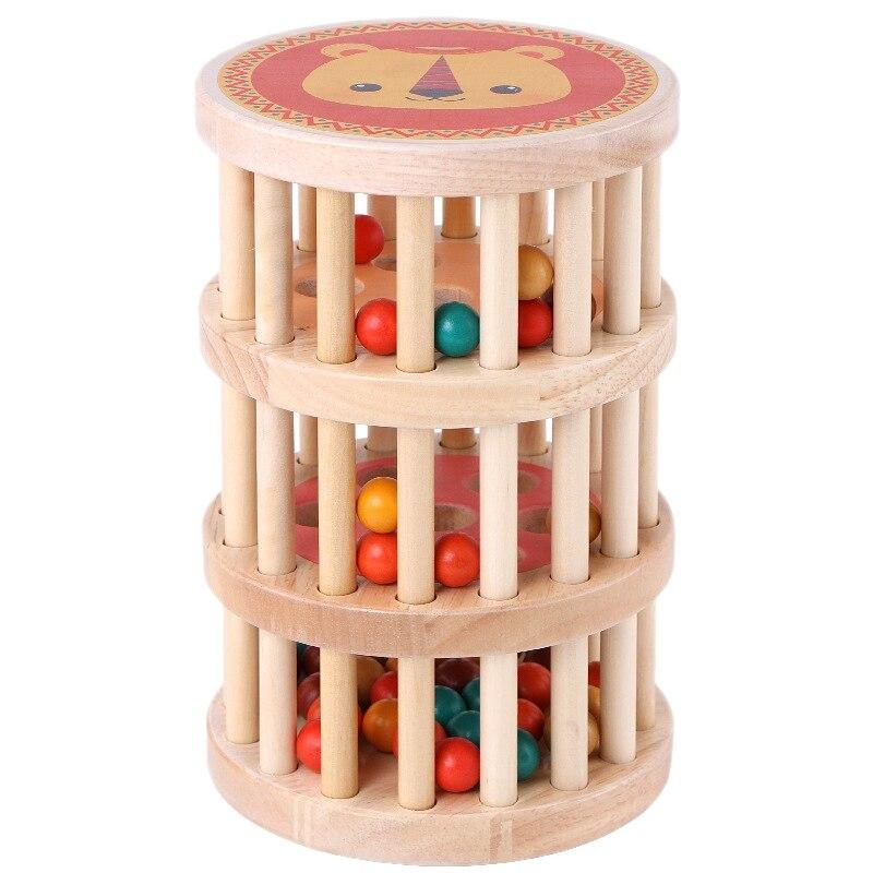 Infant Early Childhood Education Puzzle Grasping Eyesight Training Building Blocks Kindergarten Toys