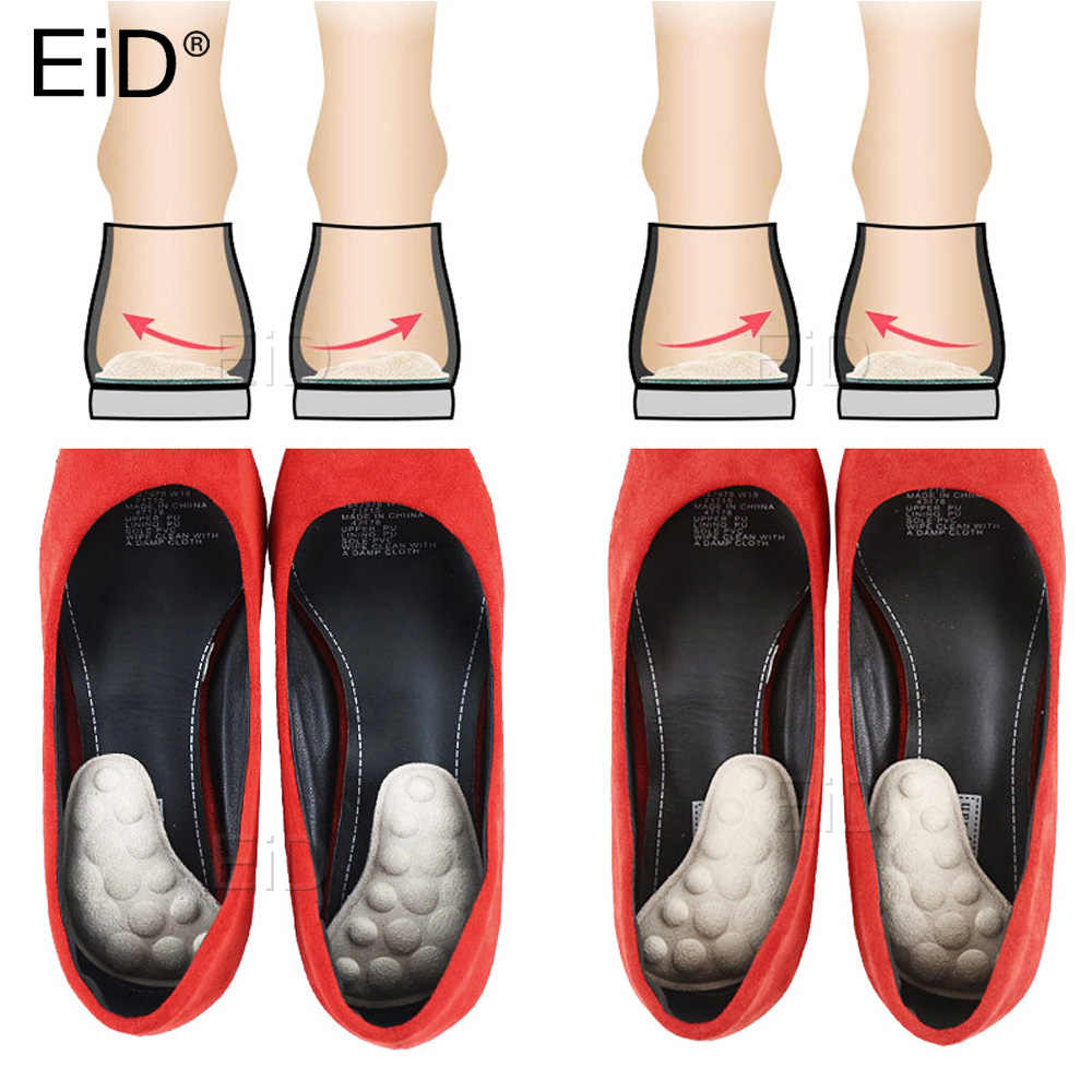 Non-slip Insole Invisible Half Forefoot Pad Arch Support Foot Care Shoe Insert
