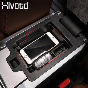 Hivotd For Geely Atlas Emgrand NL-3 Proton X70 Car Central Armrest Storage Box Organizer Plastic Case Interior Accessories 2019
