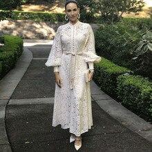 Элегантное женское платье со стоячим рукавом-фонариком, с высокой талией, Бандажное платье с жилетом, миди платья, женская мода, шикарное