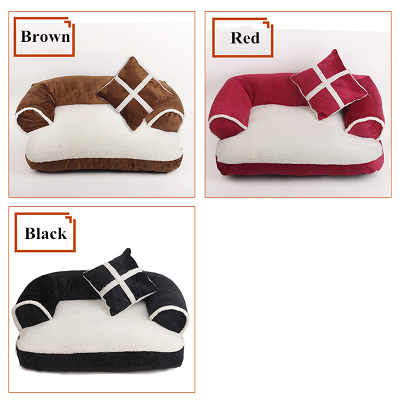 Beds Dogs New Arrivals Luxury Soft Dog Bed For Small and Medium Dogs and Cats  My Pet World Store