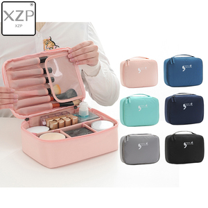 XZP Women Cosmetic bag Makeup bag Case M