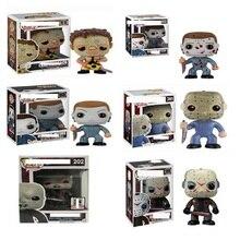 אימה סרט יום שישי את 13th ג ייסון Voorhees 611 #202 # PVC דמויות צעצועי ארבעה גדול רוצחי 361 #01 # אוסף דגם בובת מתנה