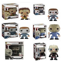 Korku filmi cuma 13th Jason Voorhees 611 #202 # PVC rakamlar oyuncaklar dört büyük katiller 361 #01 # Koleksiyon modeli bebek hediye