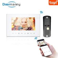 Doornanny wifi видеодомофон для квартиры дома tuya умный телефон