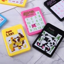 Ранняя развивающая игрушка для детей головоломка цифровой номер 1-16 лабиринт Подводное Животное Мультфильм головоломка игра игрушки
