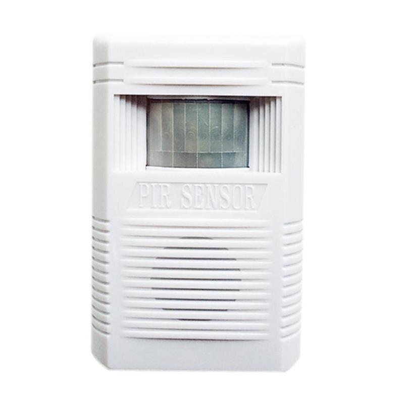 Infrared Sensor Welcome Doorbell PIR Sensor Intelligent Wireless Door Bell Chime Alarm For Store Supermarket Public Space
