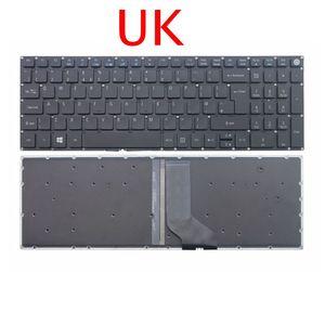 GZEELE REINO UNIDO GB Teclado para Notebook Acer aspire E5-522 E5-532 E5-573 E5-722 E5-575 E5-523 E5-552 V5-591G Backlight