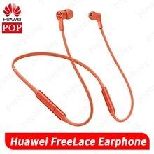 Huawei FreeLace kablosuz kulaklık Bluetooth spor su geçirmez in kulak bellek kablosu Metal boşluğu manyetik anahtarı
