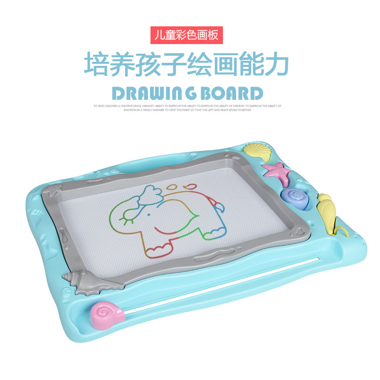 Extra Large Children Doodle Board Drawing Board Magnetic Drawing Board Baby Infant Small Toys 1-3 Years Old 2 CHILDREN'S Color
