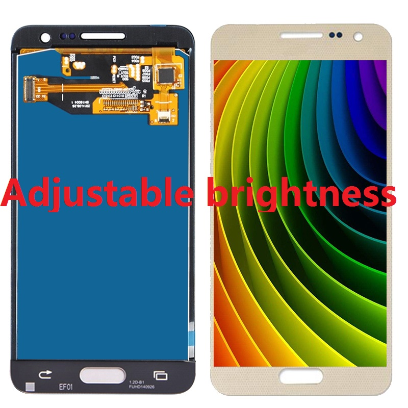 Adjustable Brightness For <font><b>Samsung</b></font> <font><b>Galaxy</b></font> <font><b>A3</b></font> A300X A300 A300H A300F A300FU <font><b>LCD</b></font> Display Touch Screen Digitizer Sensor Home button image