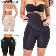 Sexy Lingerie Underwears Hip Pads Shapewear Thigh Slimmer Panties Firm Control Seamless Padded Fake Ass 6XL Plus Size Women