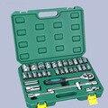 Набор инструментов для ремонта автомобиля 32pcs1/2 дюймовый храповик гаечный ключ ручной комплект насадок высвобождаемая ручка и удлинитель и...