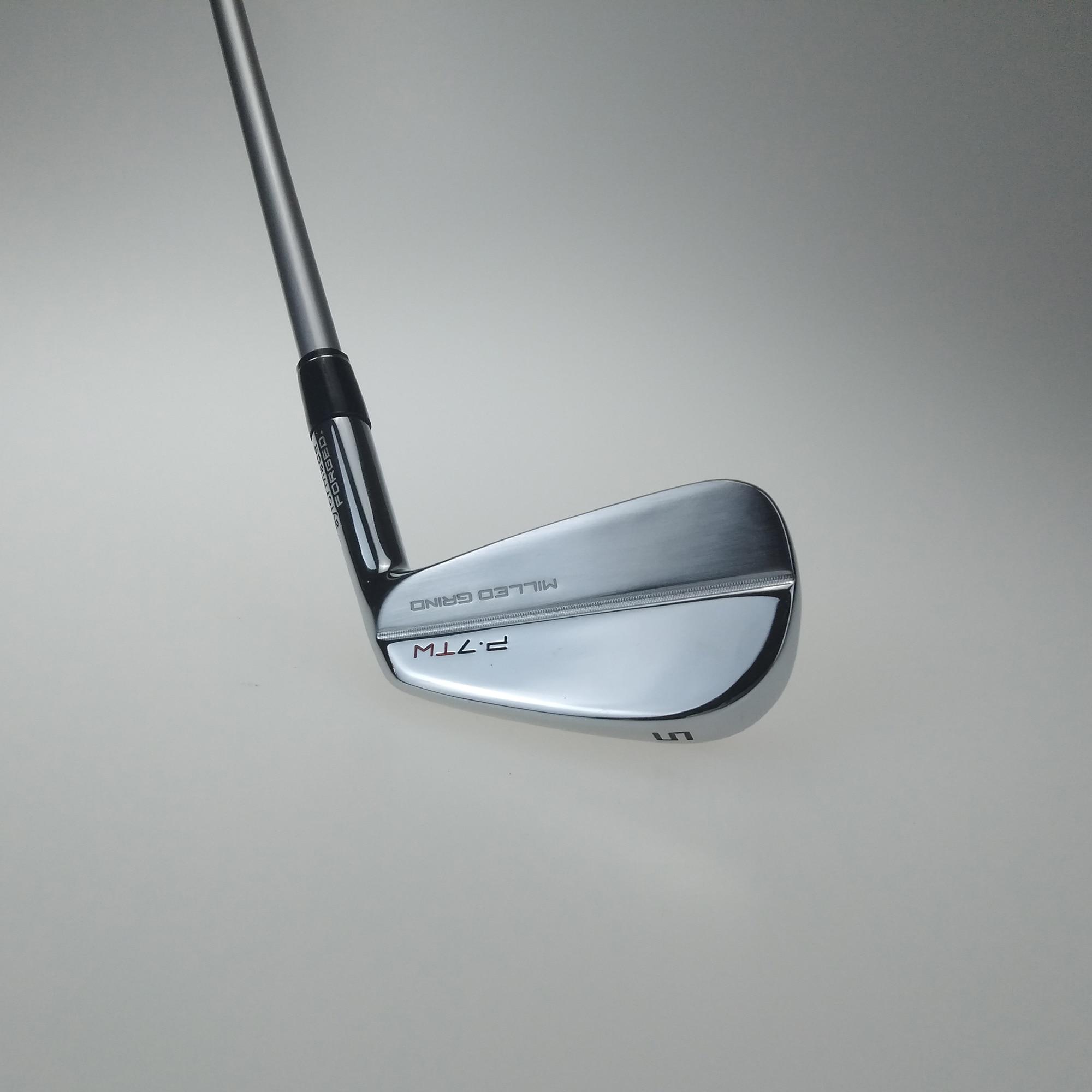 P7TW Golf clubs fers argent golf forgé fer 3-p un ensemble de 8 pièces R/S envoyer couvre-chef livraison gratuite