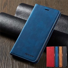 цена на For Samsung Galaxy A7 2018 A750 Case Magnetic Phone Case For Samsung Galaxy A7 2018 Cover Wallet Flip Leather Stand Case