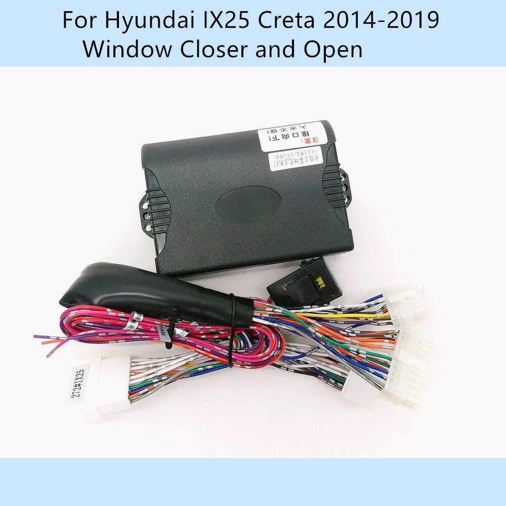Samochód automatycznie 4 zamknięcie do okna drzwi zamknięcie otwarty zestaw do Hyundai IX25/Creta 2014-2019