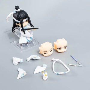 Image 3 - Anime Mo Dao Zu Shi arcymistrz demonicznej uprawy Lan Wangji 1109 pcv figurka Model kolekcjonerski Toy Doll prezent