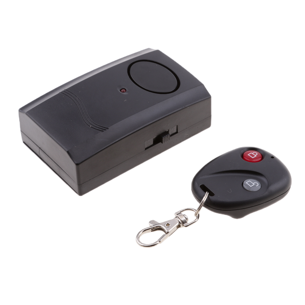 Motorcycle Car Wireless Remote Control Vibration Alarm Anti-Theft Security