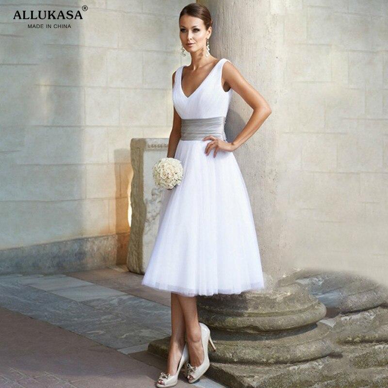 Allukasa elegante sexy com decote em v branco vestido de verão feminino formal casamento longo festa casual mais fino chiffon vestido de baile