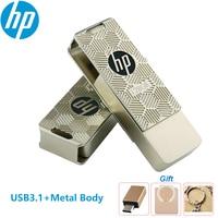HP-pen drive X610W Original, unidad flash usb de 128gb, 32gb, 64gb, con llavero, unidad Flash para PC, Macbook, Coche