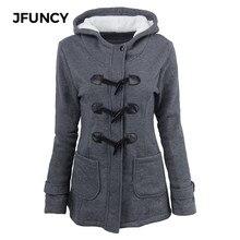 Winter Hoodies Women Jacket 2019 Classic Woman Hooded Outerwear Female Cotton Coat 4XL 5XL 6XL Plus Size Ladies Warm Hoody Coats