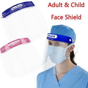 Transparent Face Shield full face mask Dust-proof Mask Protect Mask Rotatable Protective Face Mask Full Face Masks