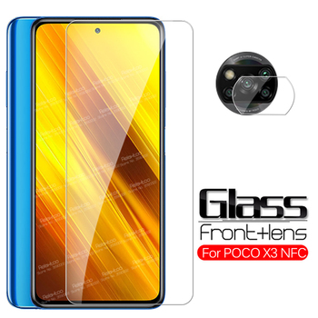 Protective Glass For Xiaomi Poco X3 Camera Glass Screen Protector Xiomi Mi Poco X 3 NFC Poko Pocco 3x 3C Pocox3 Phone Lens Film