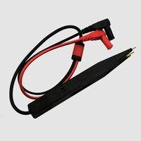 Multímetro tester clip meter caneta lead probe pinças resistência capacitor smd teste leva chip componente lcr ferramenta de teste|Peças e acessórios do osciloscópio|   -