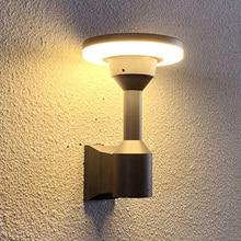Thrisdar Outdoor Led Wall Lamp Pillar Corridor Aisle Garden Light Column Villa Hotel Exterior Sconce