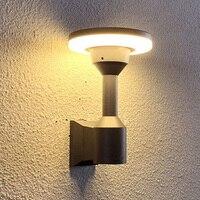 Thrisdar Outdoor Led Wall Lamp Pillar Lamp Outdoor Corridor Aisle Garden Wall Light Column Lamp Villa Hotel Exterior Wall Sconce