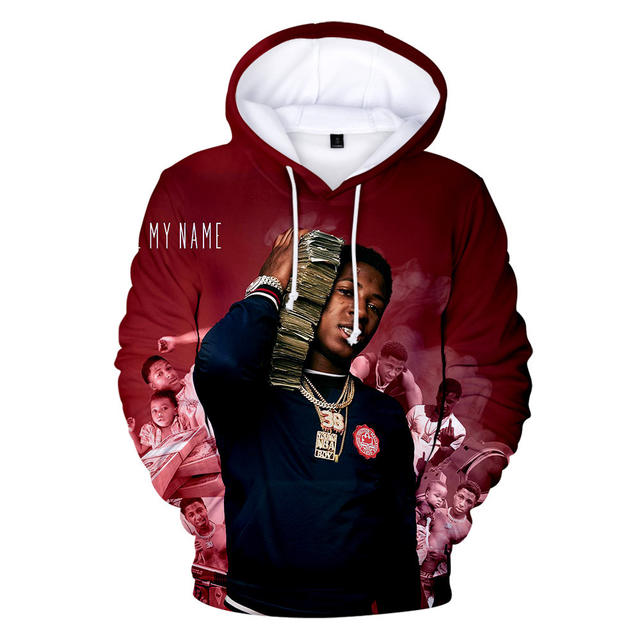 3D YOUNGBOY NEVER BROKE AGAIN HOODIE (8 VARIAN)