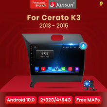 Junsun – autoradio V1, Android 10, 2 go/32 go, DSP, Navigation GPS, RDS, dvd, vidéo, multimédia, 2 din, pour voiture Kia Cerato K3 (2013, 2014, 2015)