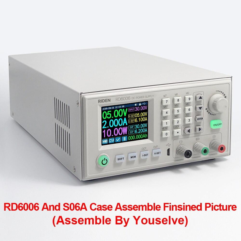 RD RIDEN RD6006 RD6006W WiFi USB CC, módulo de fuente de alimentación reductor de corriente continua, voltímetro de voltaje buck 60V 5A