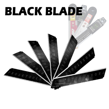 Black Blade Utility Knife Blade Thickened V Letter Sharp Durable 10 18mm Art Knife Blade 10pcs lot high quality blade knife portable 0 6mm thickness steel utility knife diy durable art cutter 100mm x 18mm