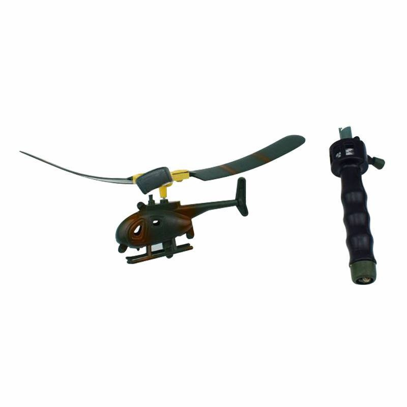Pull String Helicopter Outdoor Toy 9