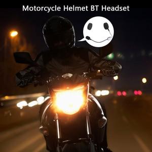 Image 5 - docooler Motorcycle BT Headphone Moto Helmet Headset Wireless Handsfree Motorcycle Helmet Headphones for Phones/MP3/ Speaker