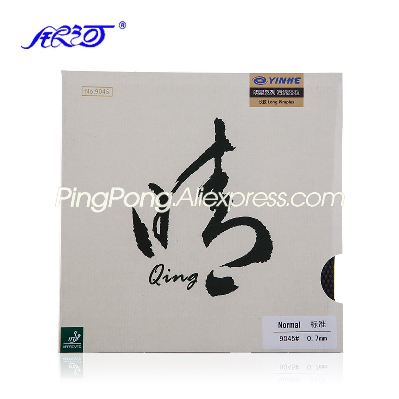 YINHE QING / Qing SOFT Pips-long YINHE Table Tennis Rubber Original Galaxy LONG PIPS Ping Pong Topsheet OX / Sponge