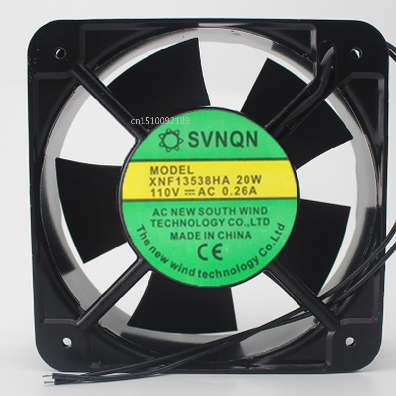 For XNF13538HA 13538 220V 0.14A 13.5 Cm Axial Fan Cooling Fan Free Shipping
