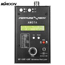 AW07A HF/VHF/UHF 160M Impedance SWR Antenna Analyzer Meter for Ham Radio Hobbyists DIY