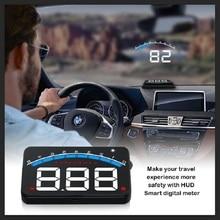 Head Up Display Automobil Digital HUD OBD2 Geschwindigkeit RPM Temperatur Spannung mit Buzz Alarm Fahren Sicher Projektor M6