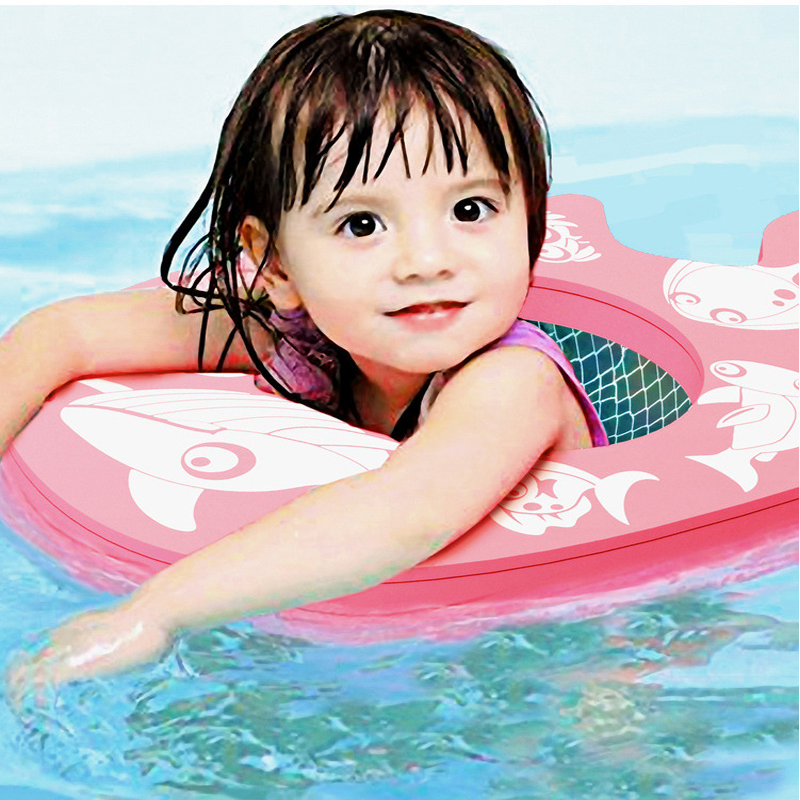Baby Swimming Ring Safety Non-Inflatable Float Lying Infant Kids Swim Pool Accessories Swimming Pool Swimtrainer Toy Ring Seat