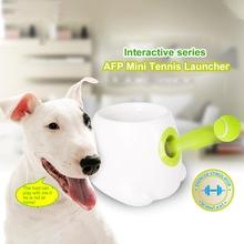 Automatic Tennis Ball Launcher For Dogs Toy Interactive Fetch Toy Machine Thrower Pet Tennis Ball Machine Indoor Outdoor Toys